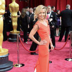 Kelly Ripa en la alfombra roja de los Oscar 2014