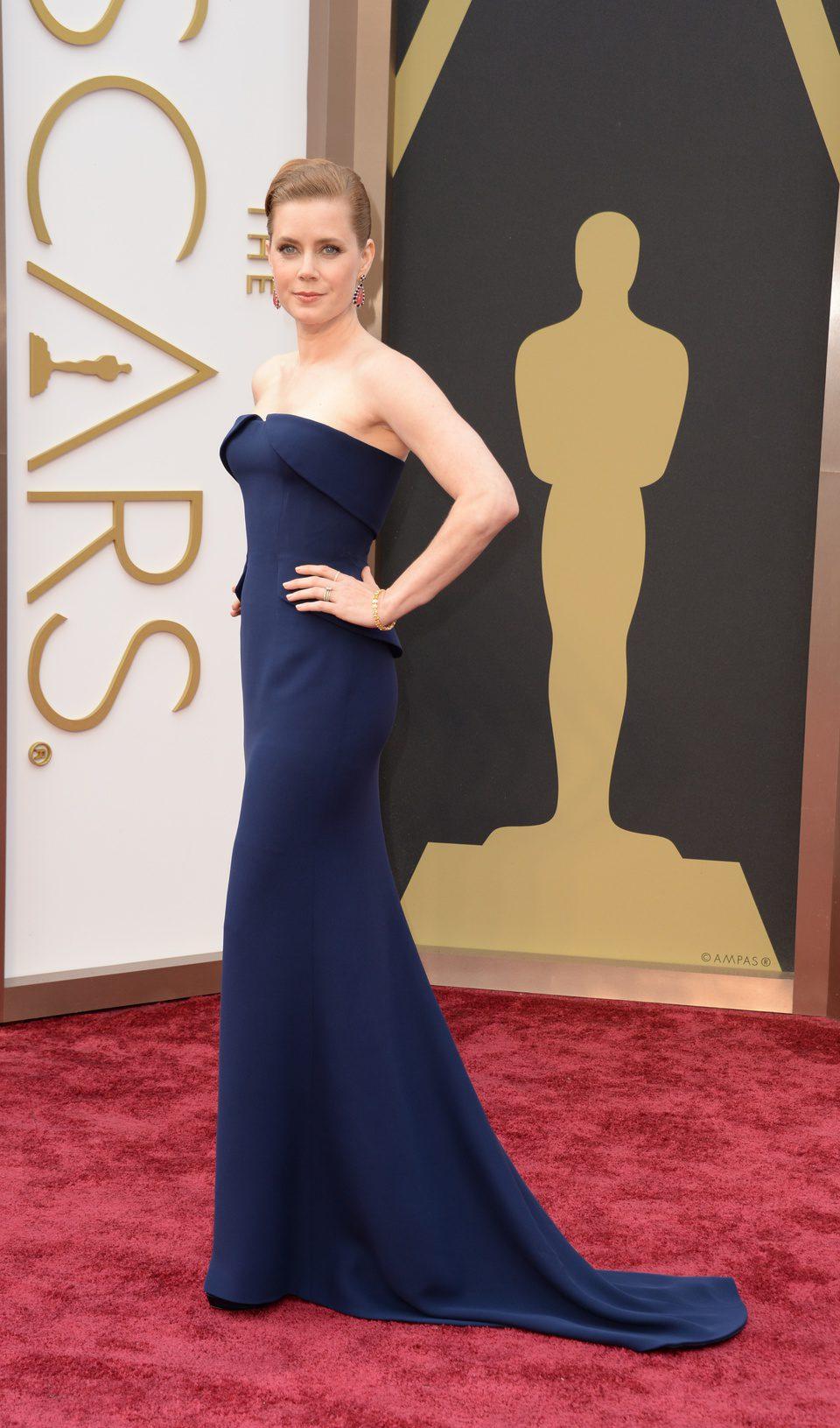 Amy Adams en los Oscar 2014