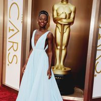 Lupita Nyong'o en los Oscar 2014