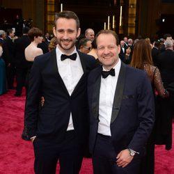 Anders Walter y Kim Magnusson en los Oscar 2014