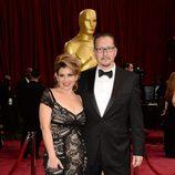 Stephen Prouty en la alfombra roja de los Oscar 2014