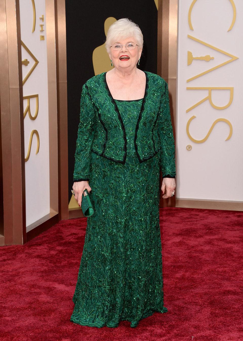 June Squibb en los Oscar 2014