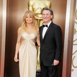 Kurt Russell y Goldie Hawn en los Oscar 2014