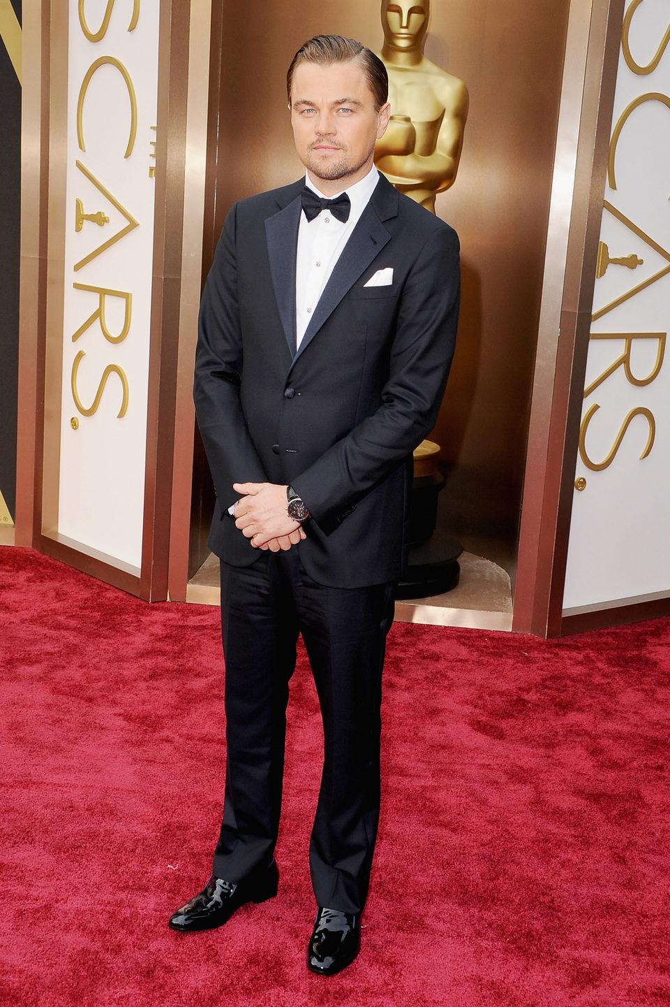 Leonardo DiCaprio en los Premios Oscars 2014