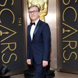 Christoph Waltz en la alfombra roja de los Oscar 2014