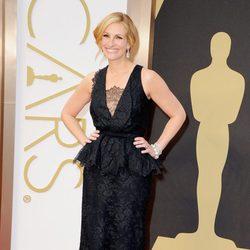 Julia Roberts en la alfombra roja de los Oscar 2014