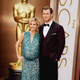 Elsa Pataky y Chris Hemsworth en los Premios Oscar 2014