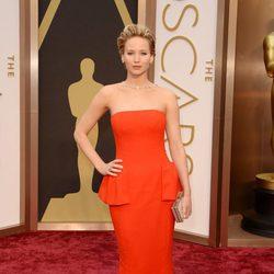 Jennifer Lawrence en los Oscars 2014