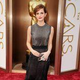 Emma Watson en la alfombra roja de los Oscar 2014