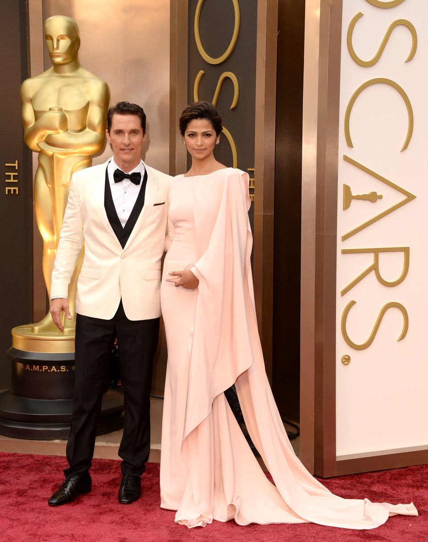 Matthew McConaughey y Camila Alves en los Oscar 2014