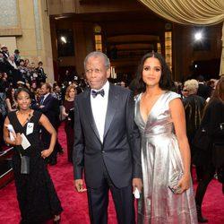Sidney Poitier en la alfombra roja de los Oscar 2014