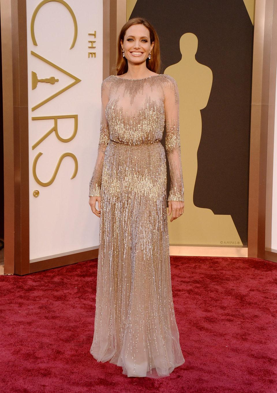 Angelina Jolie en los Premios Oscar 2014