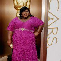 Gabourey Sidibe en los Premios Oscar 2014