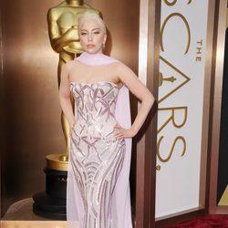 Lady Gaga en los Oscars 2014