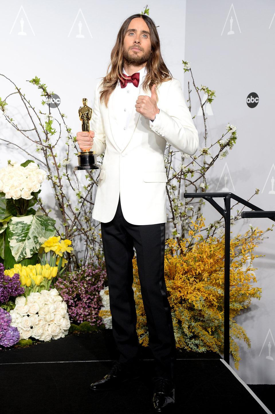 Jared Leto, mejor actor de reparto de los Oscar 2014