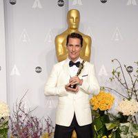 Matthew McConaughey, mejor actor de los Oscar 2014