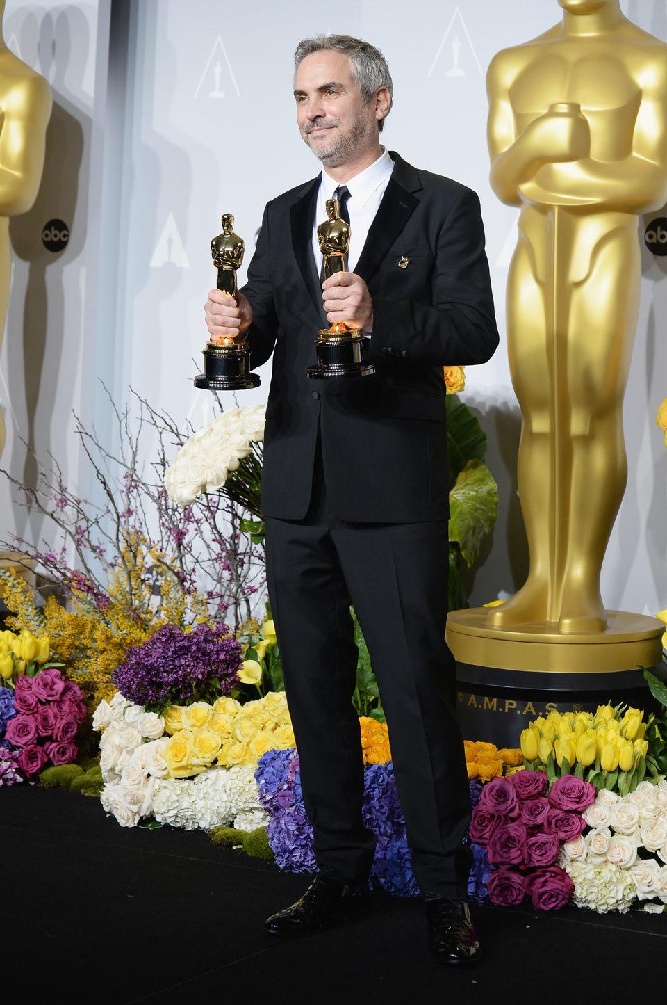 Alfonso Cuarón, mejor director de los Oscar 2014
