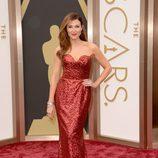 Thea Andrews en los Oscars 2014