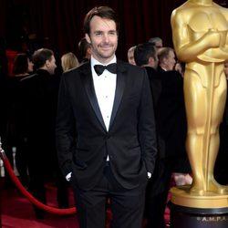 Will Forte en la alfombra roja de los Oscar 2014