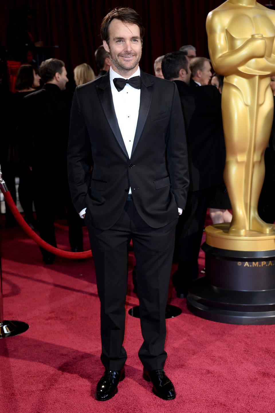 Will Forte On The Red Carpet At The  Oscars