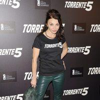 Neus Asensi en la celebración del fin del rodaje de 'Torrente 5'