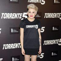 Angy Fernández en la celebración del fin del rodaje de 'Torrente 5'