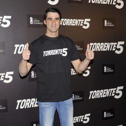 Jesús Janeiro en la celebración del fin del rodaje de 'Torrente 5'