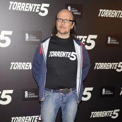 Santiago Segura en la celebración del fin del rodaje de 'Torrente 5'