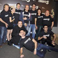 Celebración del fin del rodaje de 'Torrente 5'