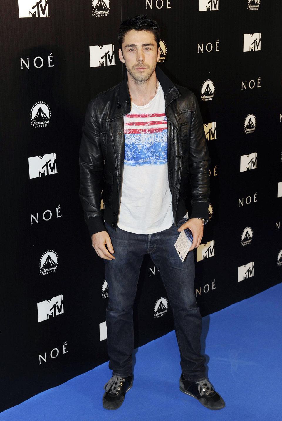 Rubén Sanz en la premiere de 'Noé' en Madrid