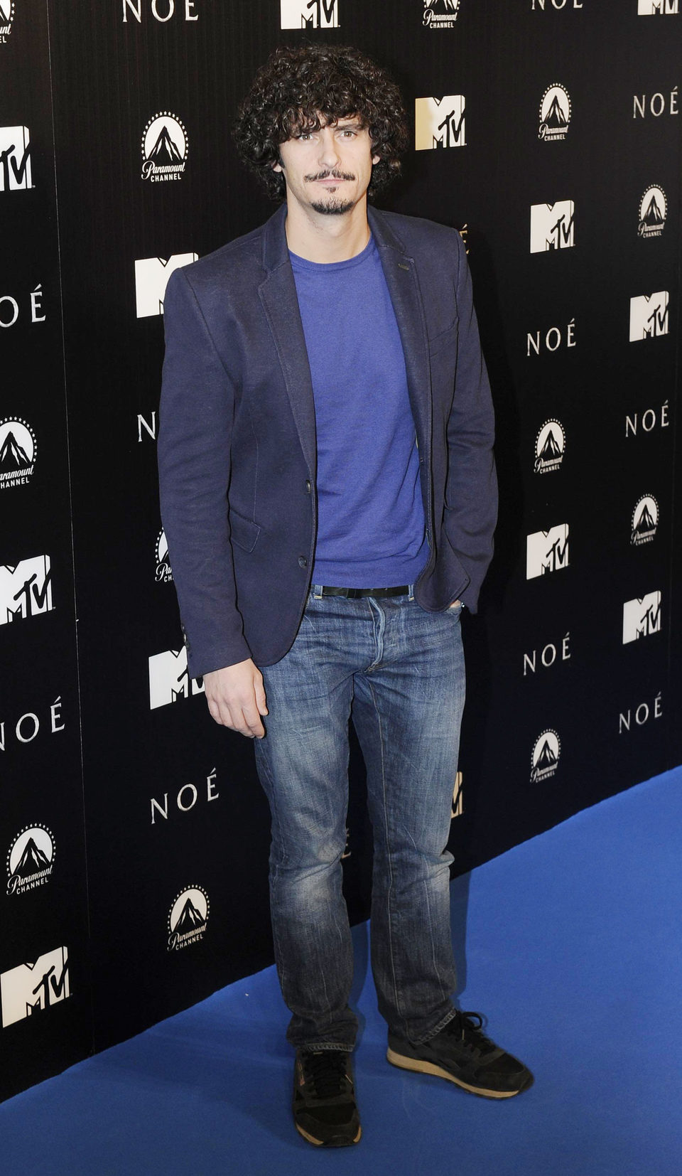 Antonio Pagudo en la premiere de 'Noé' en Madrid