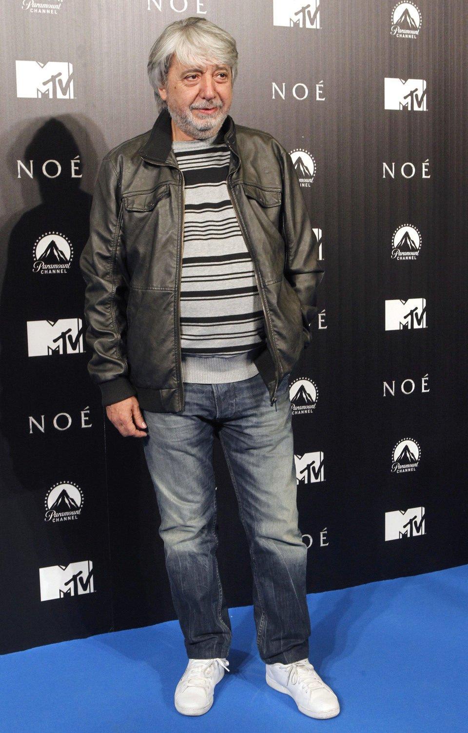 Ricardo Arroyo en la premiere de 'Noé' en Madrid