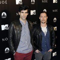 Tamar Novas y Jan Cornet en la premiere de 'Noé' en Madrid