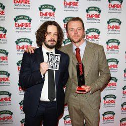 Simon Pegg, héroe Empire en los Premios Empire 2014