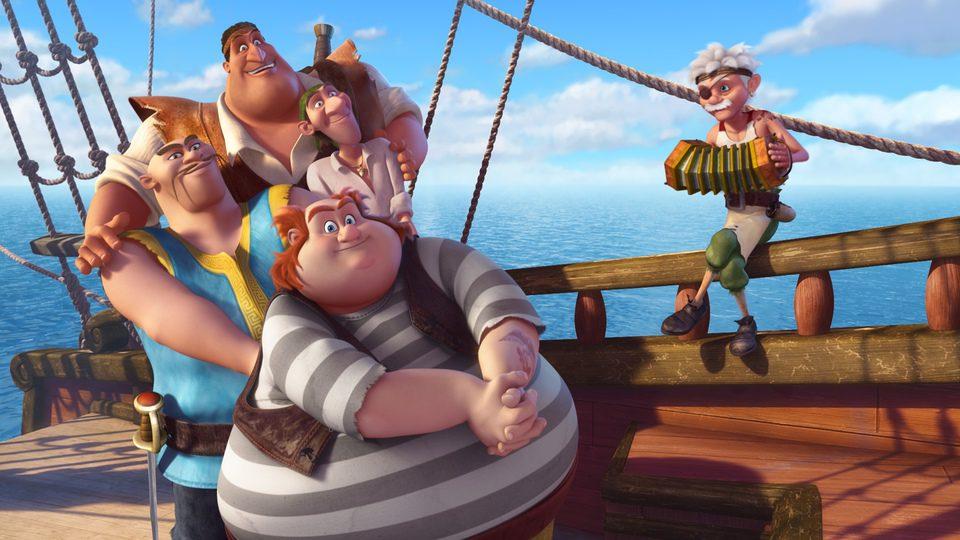 Campanilla, hadas y piratas, fotograma 7 de 14