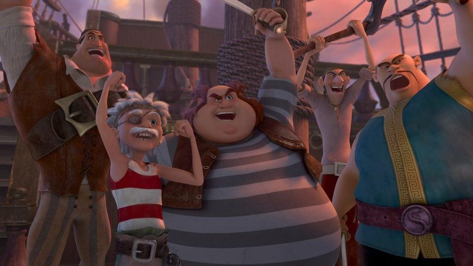Campanilla, hadas y piratas, fotograma 6 de 14