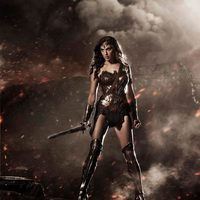 Gal Gadot como Wonder Woman en 'Batman v Superman: Dawn of Justice'