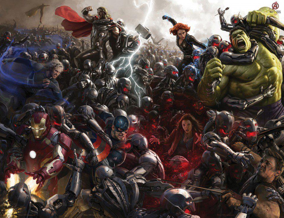 Vengadores: La era de Ultrón, fotograma 1 de 34