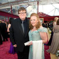 Michael Moore y Meghan O'Hara