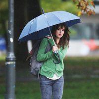 Dakota Johnson se traslada a Vancouver para el rodaje de 'Cincuenta sombras de Grey'