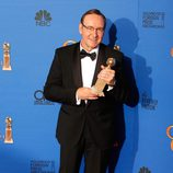 Kevin Spacey, ganador del Globo de Oro 2015 al mejor actor de drama