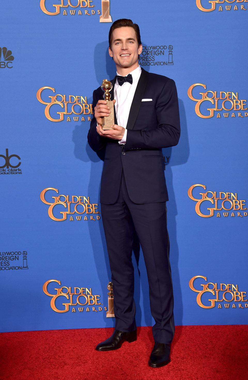 Matt Bomer, ganador del Globo de Oro 2015 al mejor actor secundario de una mini-serie