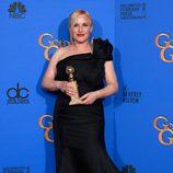 Patricia Arquette, ganadora del Globo de Oro 2015 a la mejor actriz de drama