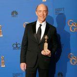 J.K. Simmons, ganador del Globo de Oro 2015 al mejor actor de reparto