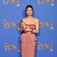 Maggie Gyllenhaal, ganadora del Globo de Oro 2015 a la mejor actriz de una mini-serie