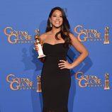 Gina Rodriguez, ganadora del Globo de Oro 2015 a la mejor actriz de comedia
