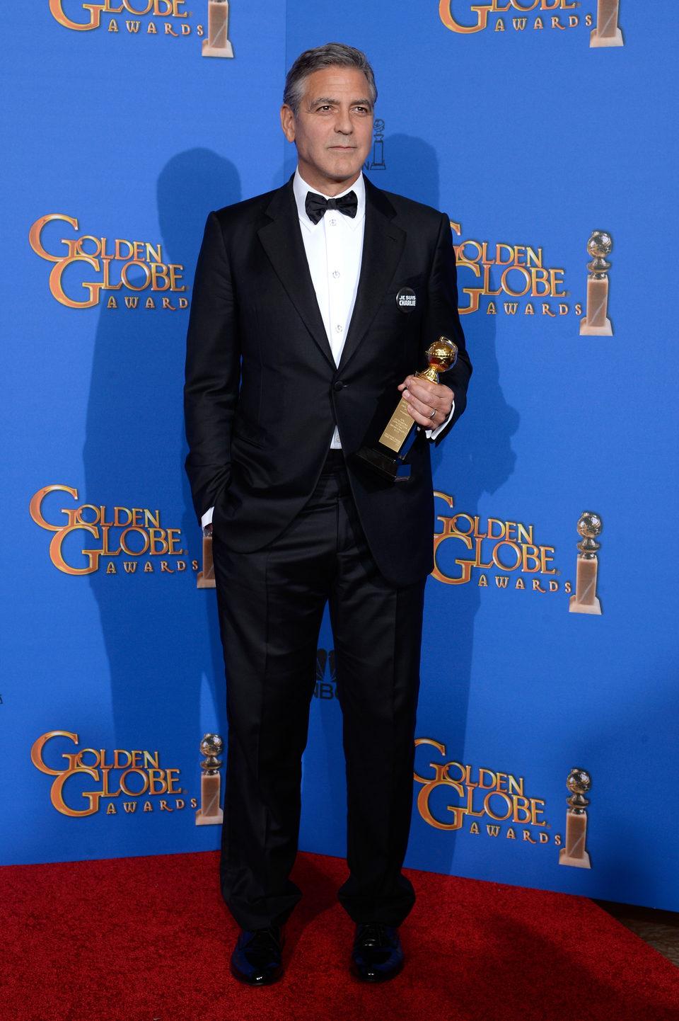 George Clooney, premio Cecil B. DeMille de los Globos de Oro 2015