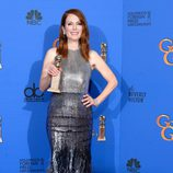 Julianne Moore, ganadora del Globo de Oro 2015 a la mejor actriz de drama