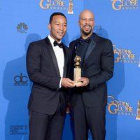 John Legend y Common, ganadores del Globo de Oro 2015 a la mejor canción