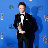 Eddie Redmayne, ganador del Globo de Oro 2015 al mejor actor de drama